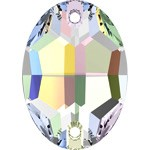 24x17mm  Crystal Oval Sew-on Stone by pc, DON-3063